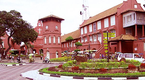Malacca-Red-building-malaysia