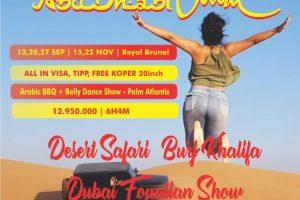 Paket Tour Dubai Vaganza - Abu Dhabi 6D