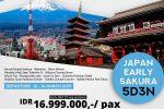 Paket Tour Wisata Jepang 5D3N 2019