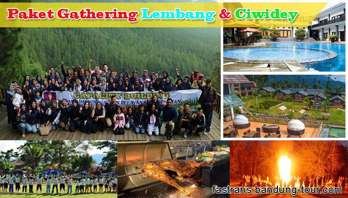 Paket Gathering Lembang dan Ciwidey