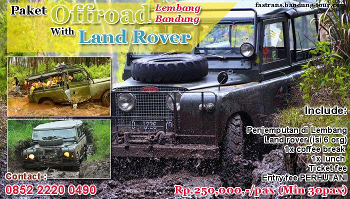 Paket Offroad Lembang Bandung with Land Rover