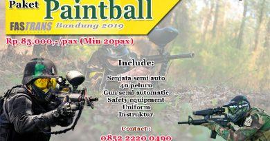 Paket Paintball Bandung 2019