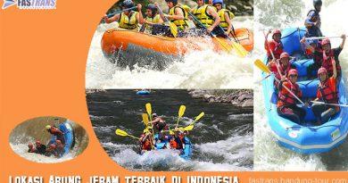 Lokasi Arung Jeram Terbaik di Indonesia