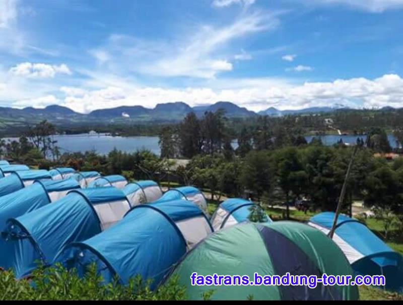 Camping di Situ Cileunca Pangalengan