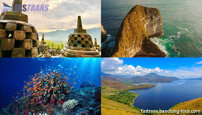 8 Tempat Wisata Terkenal di Indonesia yang Terkenal di mancanegara