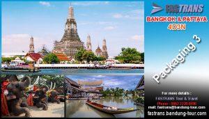 BANGKOK dan PATTAYA 4D3N Packaging 3