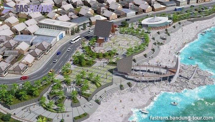 Alun-alun Pelabuhan Ratu Akan Di Sulap Secantik Ini