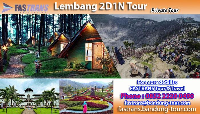 Promo Lembang 2D1N Tour