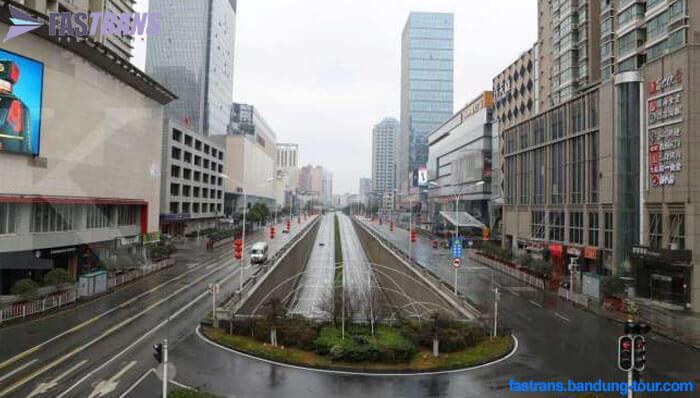 Setelah Wuhan, Kini Daegu di Korea Jadi 'Kota Hantu'
